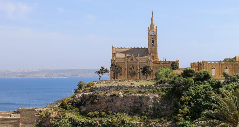 Il-Kappella ta' Lourdes -kirkko Gozolla