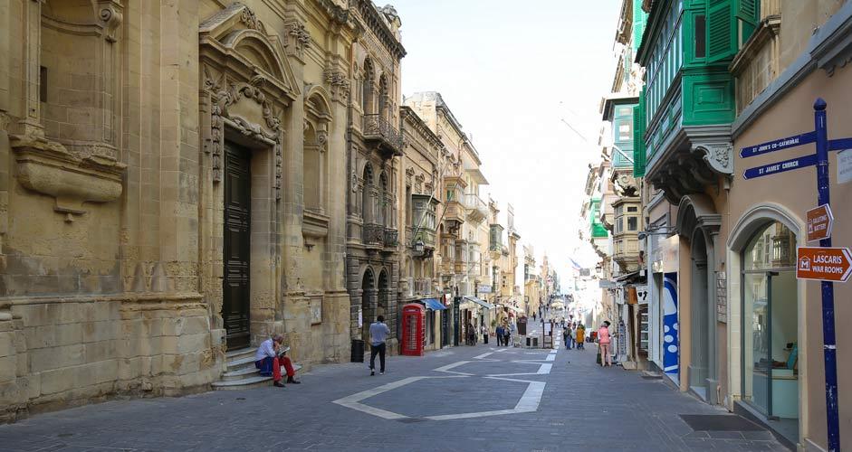 Triq il-Merkanti, Valletta